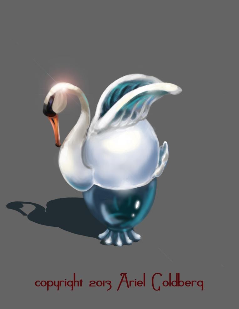 Swan jug
